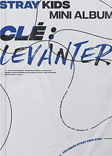 STRAY KIDS Clé : Levanter Album (CLE Version) CD+Photobook+3 QR Photocards+(Extra 4 Photocards + 1 Double-Sided Photocard)