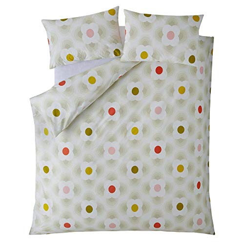 Orla Kiely Striped Petal 100% Cotton Bedding Range (King Size 230cm x 220cm)
