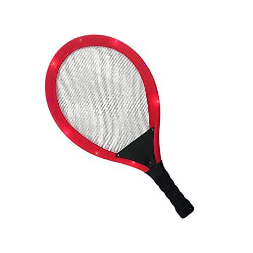 FENGXU Set da Badminton Racchette da Badminton a LED per Bambini Dark Night Illuminazione Colorati Assorbimento degli Urti Sport Creativa Giocattoli per Giochi all'Aria Aperta