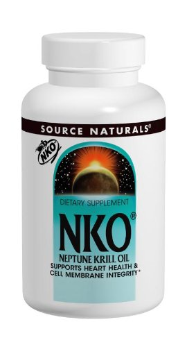 Source Naturals - Neptune Krill Oil Nko® 1000Mg - 60 softgels