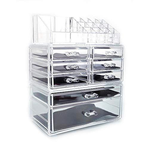 Desktop Cosmetic Storage Box Rack Plastic