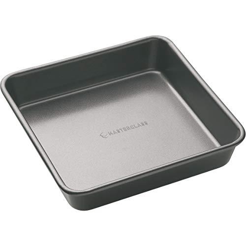 Kitchen Craft Master Class - Molde cuadrado para tartas (superficie antiadherente, 23 cm)