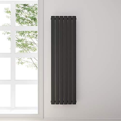 Badheizkörper Design Flach Heizkörper 1600x462mm Antrazit Paneelheizkörper Vertikal Mittelanschluss Einlagig