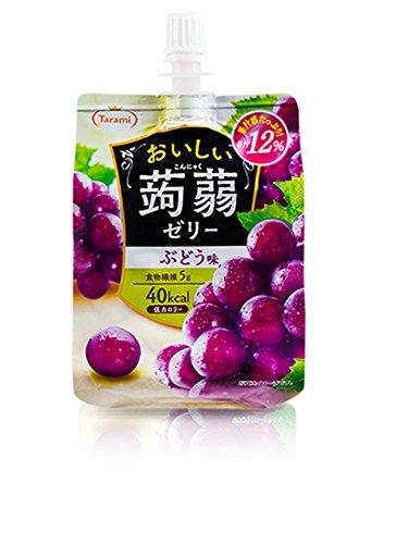 たらみ おいしい蒟蒻ゼリー ぶどう味 150g 【30個セット】
