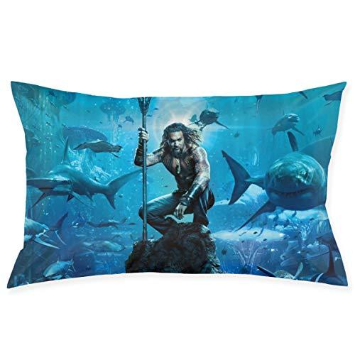 Maima The Aquaman Pillow Case 20'' X 30''(50CM X 75CM), Room Sofa Car Decorative Standard Pillow Case Cushion Cover Soft Square Pillows