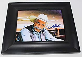 The Big Lebowski 'The Stranger' Sam Elliott Signed Autographed 8x10 Glossy Photo Gallery Framed Loa