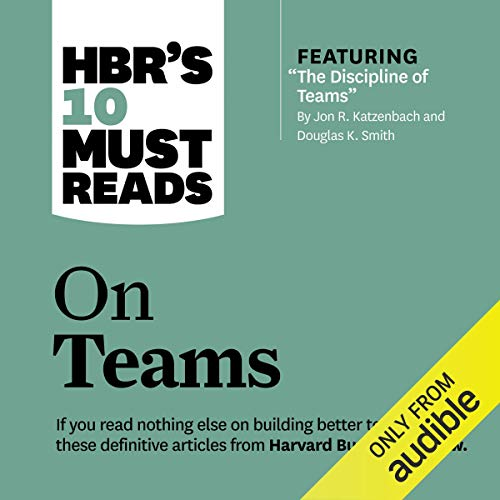 Page de couverture de HBR's 10 Must Reads on Teams