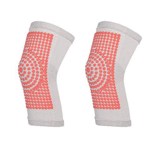 UKtrade - Rodillera protectora para lesiones, artritis, gimnasio, vendaje elástico, rodilleras, color carbón, color gris M