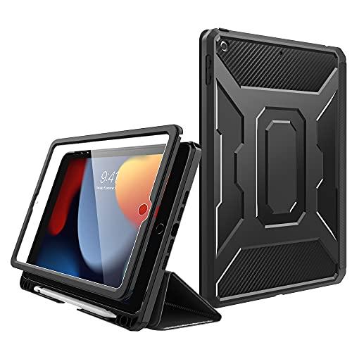 MoKo Hülle Kompatibel mit Neu iPad 8. Generation 10,2 2020 / iPad 7. Generation, iPad 10,2