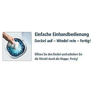 Angelcare 2370 Windeleimer Classic XL, Weiß
