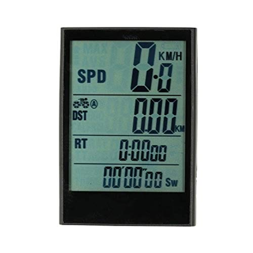 Odómetro de Bicicleta Computadora de bicicleta Bicicleta inalámbrica Bicicleta Velocímetro ODómetro Temperatura...