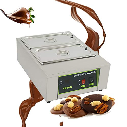 Commercial Chocolate Tempering Machine, Electric Chocolate Melter Heater...