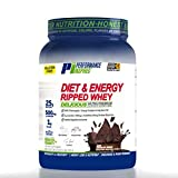 Performance Inspired Nutrition Diet & Energy Ripped Whey Protein, Dark Chocolate Dream, 2.25 Lb Style #: Rwdkc