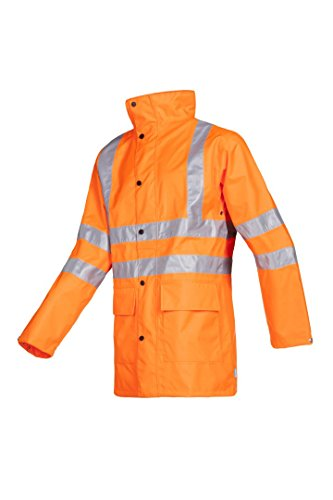SIOEN 598ZN2X98FC1XL Monoco Hi-Vis Regenjas, X-Large, Oranje