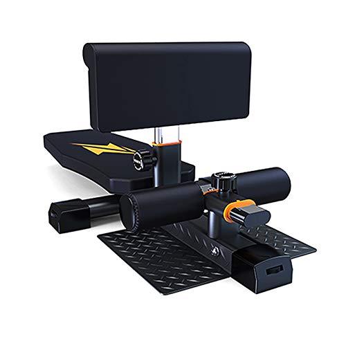 XLSQW Multifunción Deep Sissy Squat Bench Ajustable AB Sit up Bench Decline...