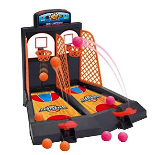 Xiton Basketball Jeu De Tir 2 Joueurs Bureau Table Arcade Jeux Basketball Hoop Set