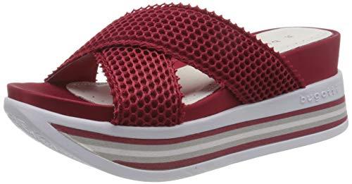 bugatti Damen 431914906900 Pantoletten, Rot (red 3000), 38 EU