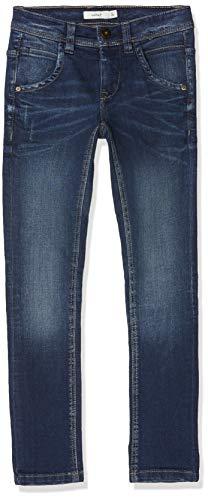 NAME IT Jungen NKMSILAS DNMTROELS 3155 Pant NOOS Hose, Blau (Dark Blue Denim), (Herstellergröße:122)