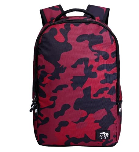 MINGPAI Mochila escolar para estudiantes de 18 pulgadas, mochila de viaje para hombres de poliéster, mochila para portátil de ocio, mochila para portátil (7,48 * 31 * 15CM)
