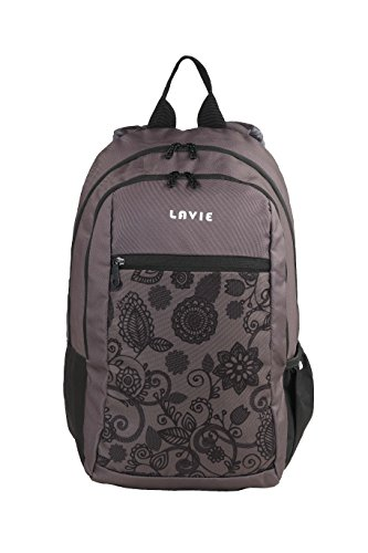 Lavie Uno 2 Grey Casual Backpack (B00120007036)