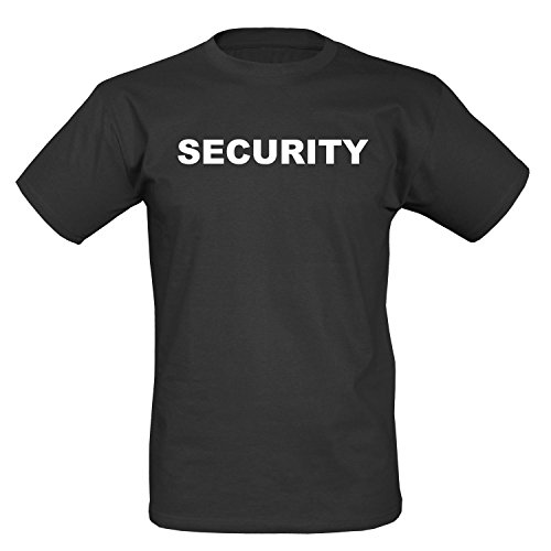 Security T-Shirt I schwarz - M