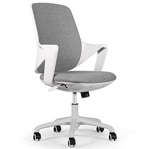 BLLXMX Ergonomic Office Chair Boss Chair Desk Chair Mesh Computer Chair with Lumbar Support Arms Modern Cute Swivel Rolling Task Mid Back Executive Chair for Women Men Adults Girls