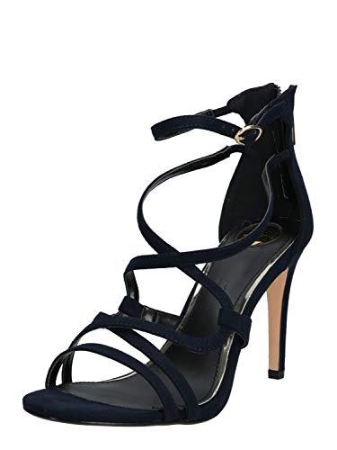 Buffalo Damen Riemchen-Sandalette Jamila Blau Synthetik 41