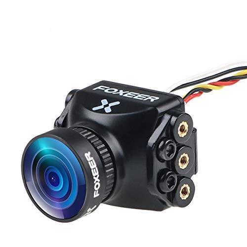 Cámara FPV Foxeer Razer Mini Cam 1200TVL Lente 2.1mm 4: 3 FOV 125 grados PAL NTSC conmutable para Racing Drone Negro