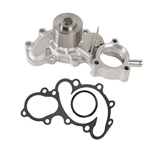 Mplus 170-1970 Engine Water Pump Kit Replace 96-02 for Toyota 4Runner / 95-98 for Toyota T100 / 95-04 for Toyota Tacoma / 00-04 for Toyota Tundra 3.4L 3378CC V6 GAS DOHC VIN 5VZFE