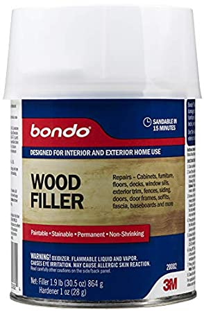 Bondo 20082, Quart Home Solutions Wood Filler