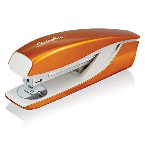Swingline Stapler, NeXXt Series Wow, Desktop Stapler, 40 Sheet Capacity, Orange (55047044)