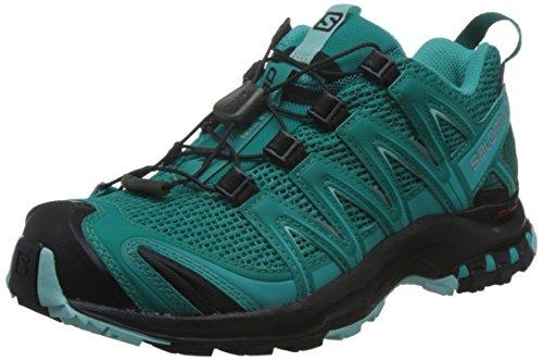 Salomon XA Pro 3D, Calzado de Trail Running para Mujer, Azul (Deep...