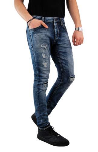 jeans yes zee uomo Yes Zee Essenza Jeans tgw30-l32 tgw33-l34 tgw38-l34 MOD.P601 Slim -Fit