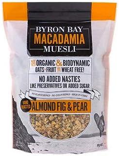 Byron Bay Organic Almond Fig and Pear Honey Macadamia Muesli 450 g