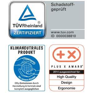 Theraline | my7 - Seitenschläferkissen | inkl. Außenbezug Melange Navyblau