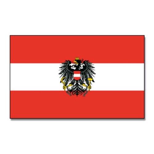 Flagge Österreich, Fahne Österreich mit Adler