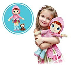 His first Ruby doll. Dimensions: approximately 30 cm Includes choco plastic figurine. Dimensions: approximately 8 cm Fabric Ruby doll: suitable for toddlers. Cuddly thanks to its soft texture. Suitable for ages 3+