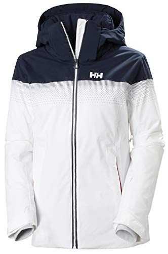 Helly Hansen W Motionista Lifaloft Jacket Chaqueta Con Doble Capa, Mujer, White, S
