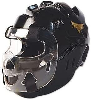 Proforce Thunder Full Headgear w/Face Shield - Black - Large