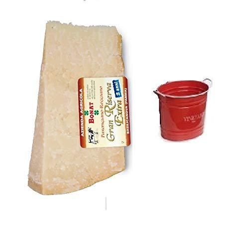 Parmigiano Reggiano Bonat 1KG im Alter von 24 Monaten + oval Sektkübel im Preis inklusiv
