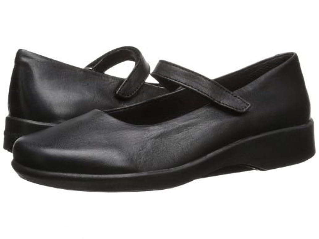 手つかずの横向き短命Arcopedico(アルコペディコ) レディース 女性用 シューズ 靴 フラット Scala - Black 37 (US Women's 6.5) M [並行輸入品]