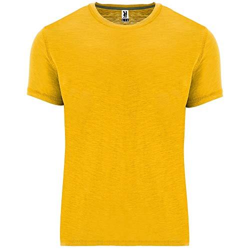 ROLY Camiseta Terrier 0396 Hombre Mostaza 30 XL