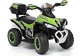 Lean YSA021A - Quad elettrico, colore: Verde