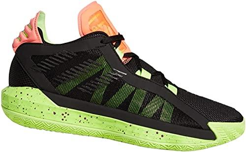 adidas Dame 6 EH2070 - Zapatillas de baloncesto para hombre, color Negro, talla 44 2/3 EU