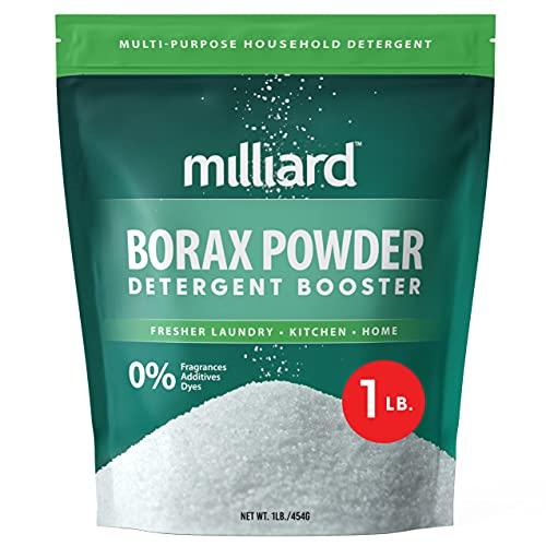 MILLIARD Borax Powder - Pure Multi-Purpose Cleaner (1 lb.)