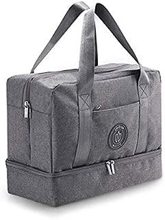 Gym Bag for Women Men Duffle Bag for Women Duffel Bag for Men Weekender Bag for Women Dance Bag Small Gym Bag Shoe Bag Sports Bag with Shoe Compartment Small Duffle Bag for Women