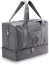 unitron world Gym Bag for Women Men Duffle Bag for Women Duffel Bag for Men Weekender Bag for Women Dance Bag Small Gym Bag Shoe Bag Sports Bag with Shoe Compartment Small Duffle Bag for Women