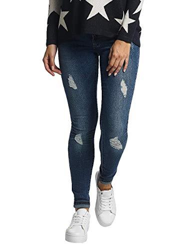 ONLY Damen onlCORAL Superlow SK BJ10221 NOOS Skinny Jeans, Blau (Medium Blue Denim), 28W / 34L