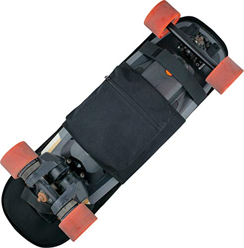 Rollie Pack Slim Carry Foldable Electric Skateboard Backpack Bag for Boosted Boards Mini S & X, V2, V2 Dual Plus, Plus, Stealth, Exway Flex, Evolve, Normal Skateboards, and Longboards