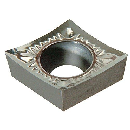 Korloy Carbide Insert for Turning - Grade H1, Insert # CCGT 21.51 (Pack of 10)